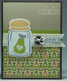 A Perfectly Preserved Pear by darhm - Cards and Paper Crafts at Splitcoaststampers