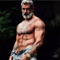 The 22 Most Awesome Older Men Ever Seen It seems that age is no obstacle if born with a natural instinct for style. In fact, in… The 22 Most Awesome Older Men Ever Seen It seems that age is no obstacle if born with a natural instinct for style. In fact, … Hairy Men, Bearded Men, Men Beard, Anthony Varrecchia, Hommes Sexy, Mature Men, Good Looking Men, Gorgeous Men, Beautiful Men Bodies