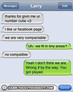 funny auto-correct texts - A Real Catch