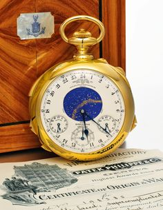 The Patek Philippe Supercomplication Has Just Been Sold By Sotheby's For A Whopping (And World Record) 20.6 Million Swiss Francs - Or 23.2 Million CHF With Buyer's Premium! see our article on the world's rarest and most expensive Patek Philippe watches ever sold on aBlogtoWatch.com
