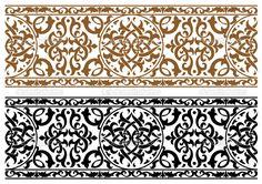 Абстрактный Арабский орнамент - Стоковая иллюстрация: 27173295