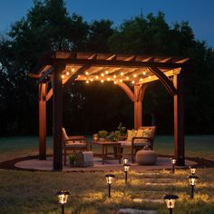 The pergola you choose will probably set the tone for your outdoor living space, so you will want to choose a pergola that matches your personal style as closely as possible. The style and design of your PerGola are based on personal Diy Pergola, Building A Pergola, Pergola With Roof, Wooden Pergola, Gazebo, Covered Pergola, Metal Pergola, Garden Structures, Outdoor Structures