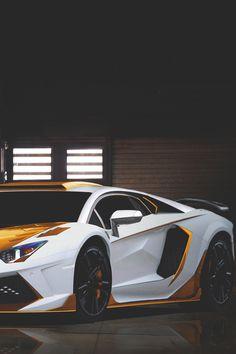Lamborghini Gold Carbonado Mansory