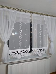 Kitchen Window Curtains Window Dressings Shabby Chic Decor Cabana Window Treatments Diy Home Decor Beautiful Homes Home And Garden Sweet Home Simple Living Room, Small Living Rooms, Living Room Designs, Kitchen Window Curtains, White Curtains, Curtain Designs, Minimalist Interior, Shabby Chic Decor, Window Treatments