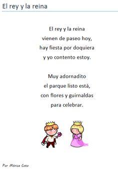 """Poema infantil. Uso de la """"y"""" como vocal y en la formación de diptongos. Bilingual Education"""