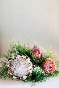 Protea bouquet.