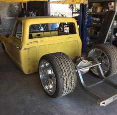 Hot Wheels - When your rear tyres nearly touch the window! 80s Chevy Truck, Custom Chevy Trucks, C10 Trucks, Old Pickup Trucks, Chevy C10, Chevy Pickups, Chevrolet Trucks, Silverado Single Cab, Drift Truck