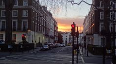 A London Sunset