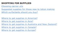 Point of Interest!: suppliers