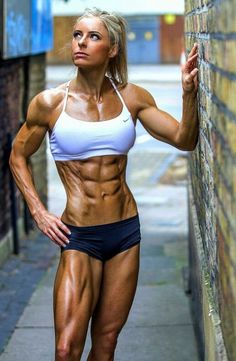 Stunning Ripped Girls from the Gym,Beach and the World of Sports. New Ripped Girls Added Daily Fitness Models, Fitness Tips, Fitness Motivation, Fitness Women, Fitness Exercises, Female Fitness, Workout Fitness, Modelos Fitness, Ripped Girls