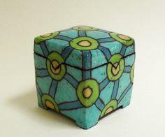 Kleine Keramik Dose