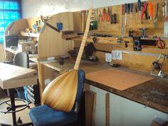 Baglama - Instrumento Turco - Oficina das Guitarras Mozart