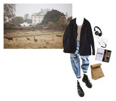 """Untitled #84"" by inteovertgirl on Polyvore featuring Levi's, Dr. Martens, Barbour and Jil Sander"