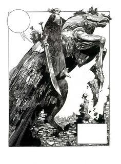 sergio toppi (knight on horseback)