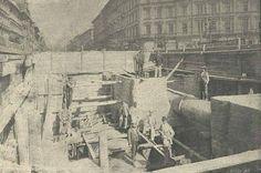 Az Oktogonnál Millenniumi Földalatti Vasút építése | forrás = Vasárnapi Újság 1896/17.szám | dátum = 1896 | helyszín = Budapest | szerző = Klösz György