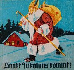 Carina Tauscheck, Sankt Nikolaus kommt - Eine geschichte von braven Kindern und einem Lausbuben - Bilder von Willi Hofmann