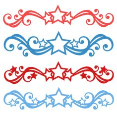 Patriotic Flourish Set: Miss Kate's