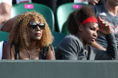 That was a tough match to watch for us, too, but Venus was fierce!  Serena Williams & Mom, Oracene Price, watch Venus Williams of the United States play Angelique Kerber of Germany during the third round of Women's Singles Tennis on Day 5 of the London 2012 Olympic Games at Wimbledon on August 1, 2012 in London, England.