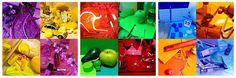 Monochrome photos: a color hunt! complementary colors