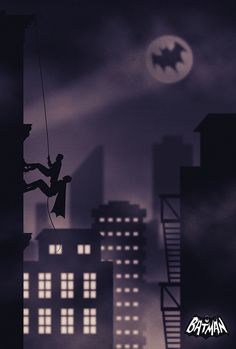 Batman Fan Art Poster on Behance