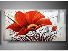 Flower Canvas, Flower Art, Watercolor Flowers, Watercolor Art, Large Canvas Art, Acrylic Art, Painting Techniques, Painting Inspiration, Art Pictures