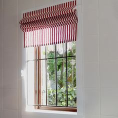 For our Roman blind we chose a red and white striped cotton fabric that cost R34.95 per metre, and to make 4 blinds we needed 2.5 metres, so do the maths and you'll see that making your own Roman blinds can be done easily on a frugal budget. http://www.easydiy.co.za/index.php/make/507-make-a-simple-roman-blind