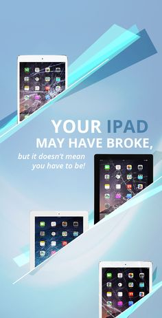 Don't be broke...Sell your broken iPad for cash!