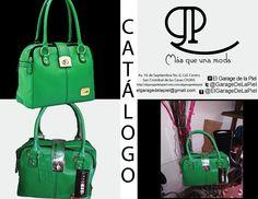 Bolsa verde en piel diseño Crabtree lo encuentras en @ElGarageDeLaPiel #ElGarageDeLaPiel http://elgaragedelapie3.wix.com/elgaragedelapiel