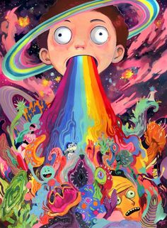 Best seller Cute Morty Smith Retro Poster Rick And Morty Stuff Retro Poster, Vintage Posters, Art Posters, Psychedelic Art, Trippy Wallpaper, Iphone Wallpaper, Trippy Rick And Morty, Rick Und Morty, Rick And Morty Poster