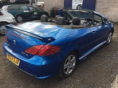#Peugeot 307 cc 2.0 #registered on a 04 #plate,  View more on the LINK: http://www.zeppy.io/product/gb/2/172029745253/