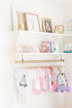 Glamorous kids room  | Photography: Dustin Walker