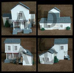 Prairie model home.