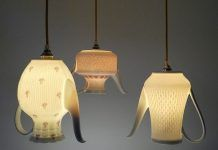 Vintage Chinaware pendant lights by UPservies