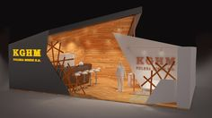 "Concept Art - Exhibition Stand ""KGHM"" on Behance"