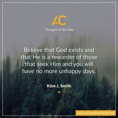 Faith is the key to a happy life! http://activechristianity.org/