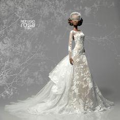 https://flic.kr/p/pMdk9Q | Vestido por encargo para Miss Barbie ACBE Andalucia 2014 (Custom Made Dress for Miss Barbie ACBE Andalucia 2014)