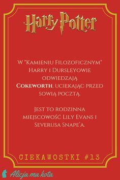 Kiedy czytasz drugi raz - Cokeworth  | Harry Potter - ciekawostki, zaskakujące fakty, odniesienia #HarryPotter #ciekawostki #fakty #książki