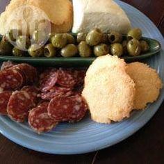 Sequilhos de Queijo, Brasilianische Käsecracker, brasilianisch, Essen, Rezept: http://de.allrecipes.com/rezept/17187/brasilianische-k-secracker--sequilhos-de-queijo-.aspx