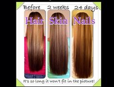 It Works! Hair, Skin, and Nails pills really does make your hair grow. I've tried taking biotin pills and they did nothing and made me break out, but this product has made my hair grow twice as fast and no break outs! Love these pills! www.born-tobe-healthy.com