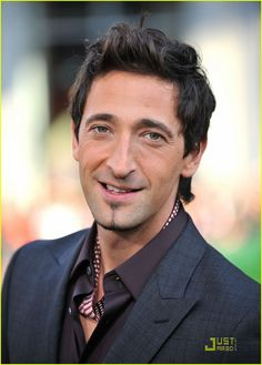 Adrien Brody #actors #hotguys