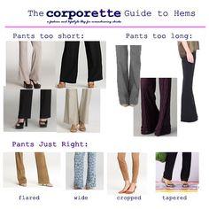 #pants #length #guide
