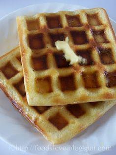 Food is Love: An Easy Waffle Recipe