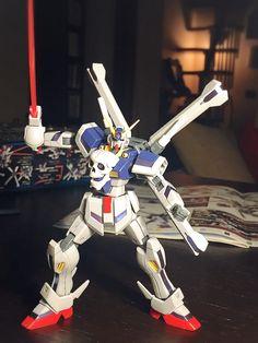 HGBF 1/144 Cross Bone Gundam Maoh.