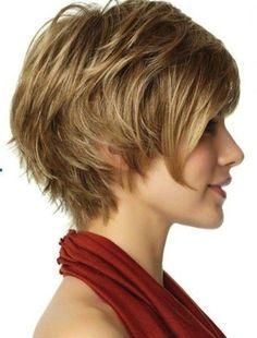 Peinados para mujeres de 40 años: fotos de los peinados - Pelo corto escalado