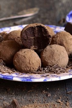 3 Ingredient Dark Chocolate Truffles Recipe