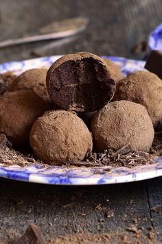3 Ingredient Dark Chocolate Truffles                                                                                                                                                      More