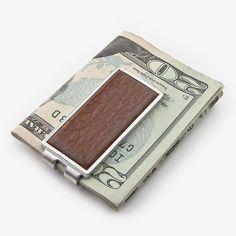 Davin & Kesler: Money Clip: Solid Lacewood