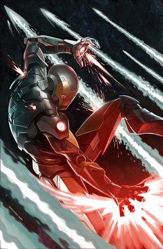 #Iron #Man #Fan #Art. (Iron Man) By: Gary Choo.