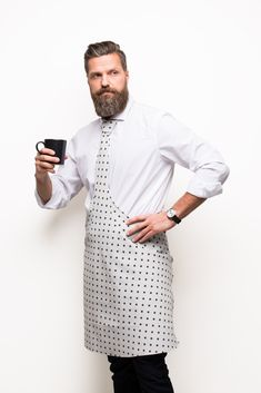 Ontwerp: Andres OK. Dental Business Cards, Waiter Uniform, Dress Codes, Chef Jackets, Tie, Denim, Aprons, Pattern Design, Pizza
