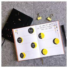 🇫🇷 Hello tout le monde, étant donné que je ne me suis pas encore fait de calendrier lunaire pour cette année, j'ai fait ma semaine sur ce thème ! Ce ne sont pas mes couleurs habituelles mais ca change, qu'en pensez-vous ? Êtes vous prêt pour cette semaine ? ~~~~~~~~~~~~~~~~~~~~~~~~~~~~~~~~~~~~~~~~~~~~~~~~~~~~~~~~~~~~~~~~~~~~~~ 🇬🇧 Hello everybody, I don't have a moon calendar yet, so I decided to make my week with this theme ! It's not my usual colors but it change ! What do you think of…